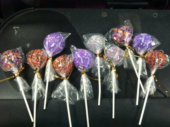 wrapped cakepops